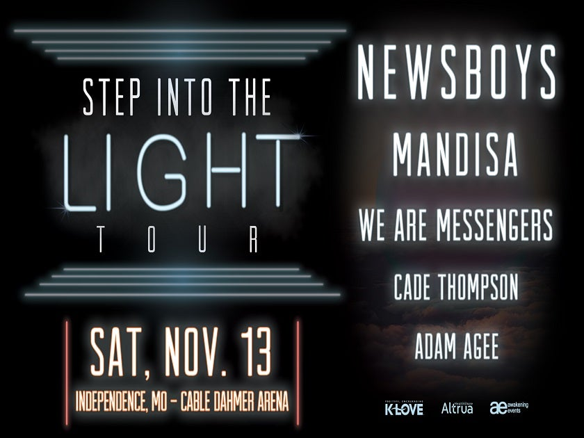 Step Into The Light Tour featuring Newsboys