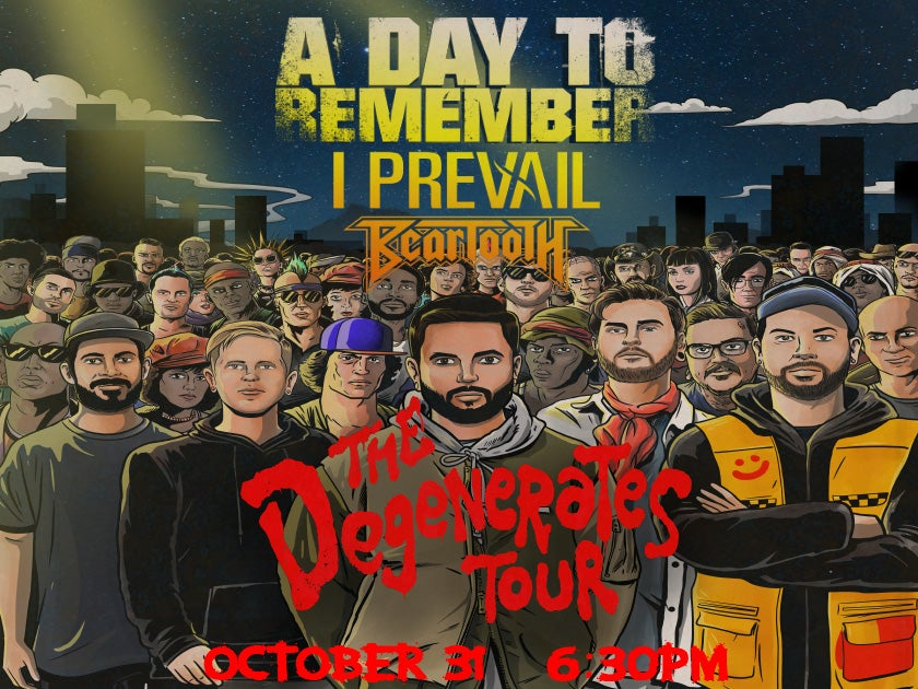 A Day To Remember - The Degenerates Tour