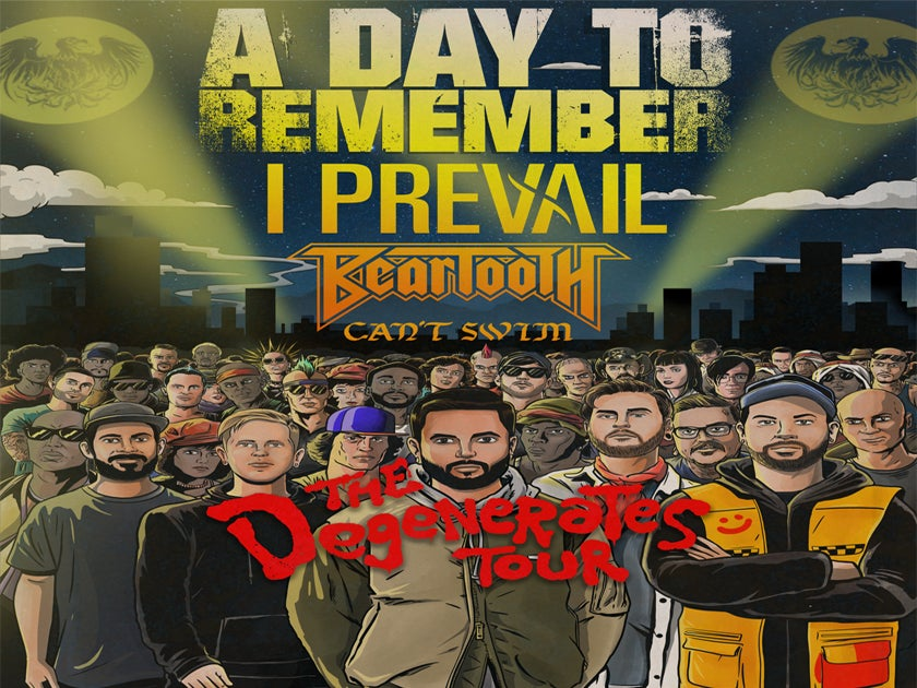 More Info for A Day To Remember: The Degenerates Tour
