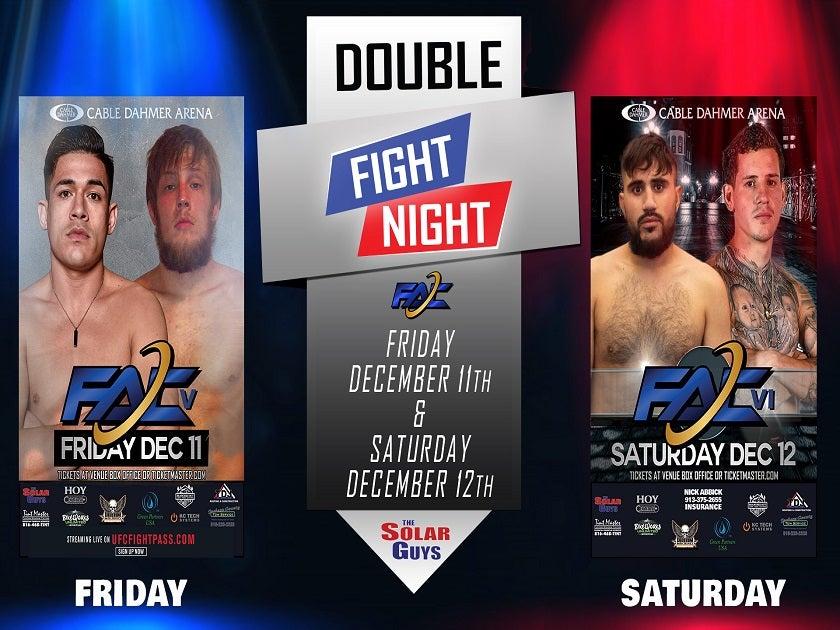 FAC MMA Fight Night Weekend Tickets