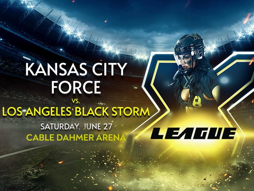 More Info for Extreme Football League: Kansas City Force vs LA Black Storm