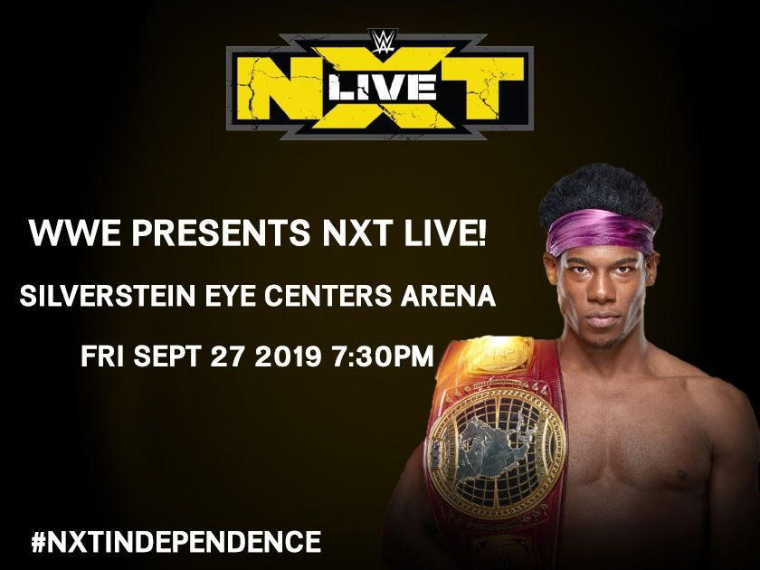 More Info for WWE Presents NXT Live!