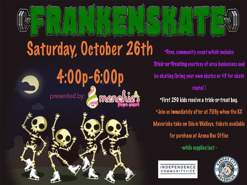 More Info for Frankenskate at Independence Community Ice