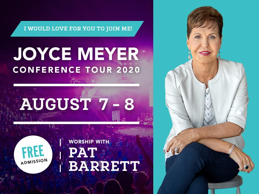 CANCELED - Joyce Meyer Conference Tour 2020