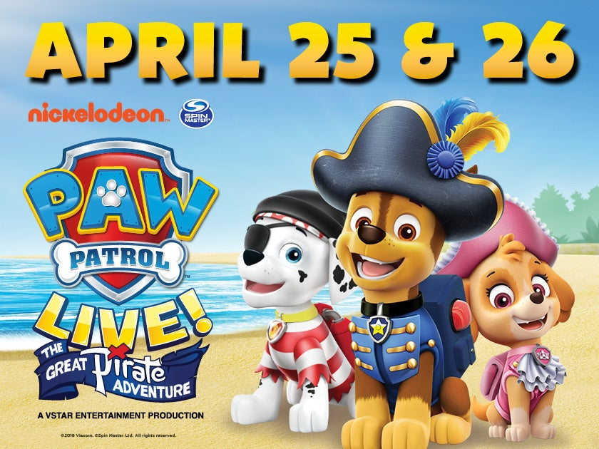 More Info for CANCELED - Paw Patrol Live! The Great Pirate Adventure