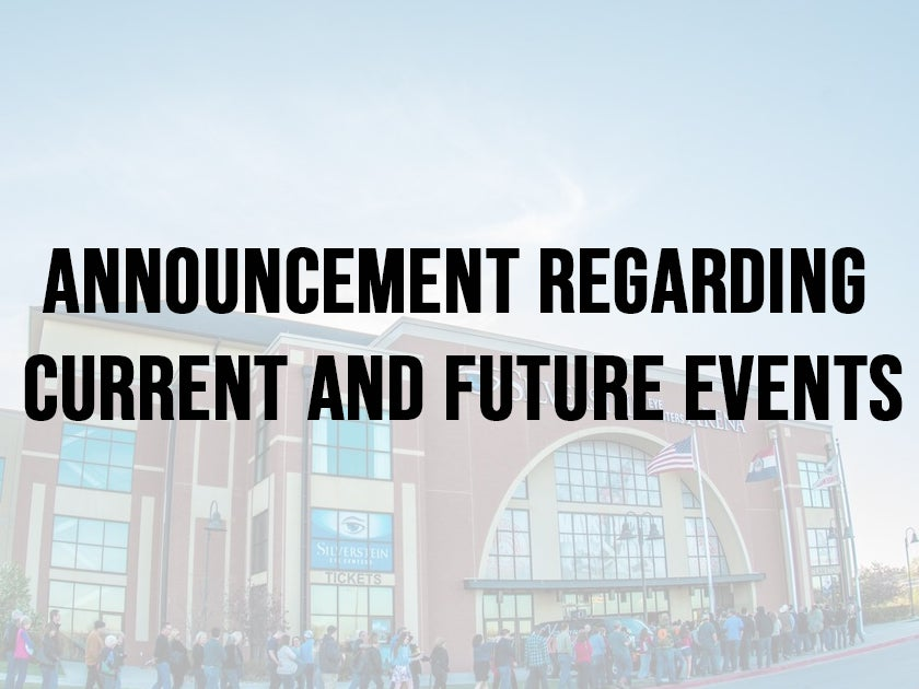 More Info for UPDATED - Silverstein Eye Centers Arena and Independence Community Ice to Postpone Public Events Through May 15
