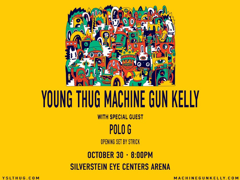 Young Thug and Machine Gun Kelly