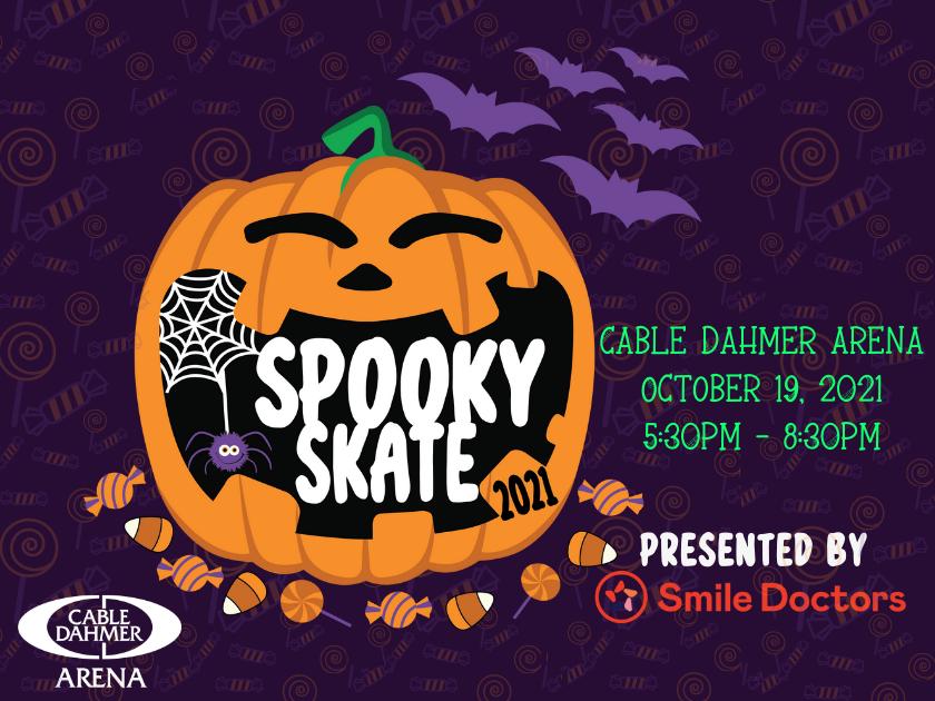 Spooky Skate presented by Smile Doctors